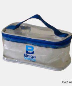 Necessaire de Plástico Transparente Personalizada