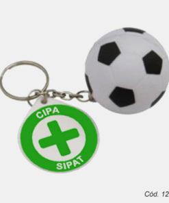 chaveiro bola de futebol personalizado